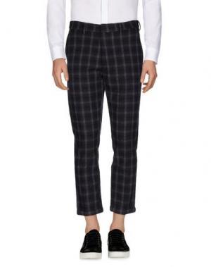 Повседневные брюки MC MASTER OF CEREMONIES. Цвет: свинцово-серый