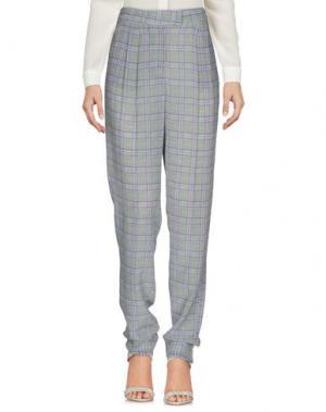 Повседневные брюки E_GO' SONIA DE NISCO. Цвет: серый