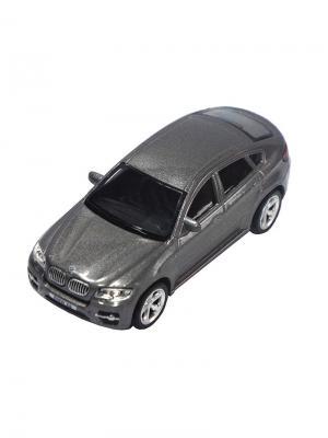 Машинка BMW X6, Серая (1:43) (PS-444002-G) Pit Stop. Цвет: серый