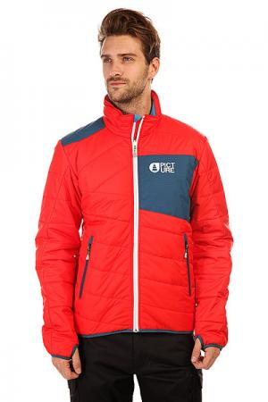 Куртка  Picpuff Red Picture Organic. Цвет: оранжевый,синий