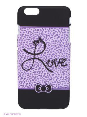 Чехол для iPhone 6 plus WB. Цвет: черный, сиреневый, фиолетовый