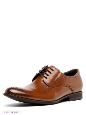 Туфли MILANA. Цвет: светло-коричневый