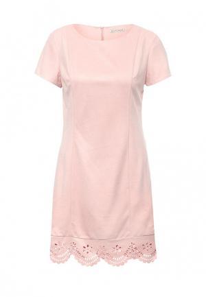 Платье Sela. Цвет: розовый