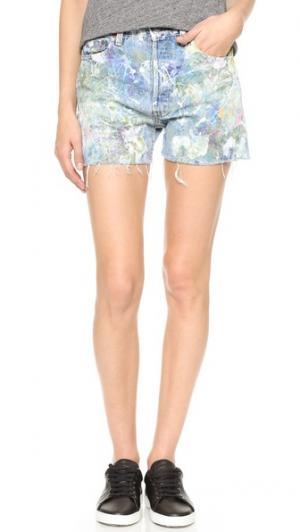 Обрезанные шорты Rialto Jean Project. Цвет: радуга