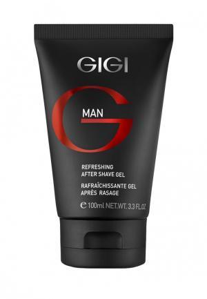 Гель после бритья Gigi. Цвет: черный