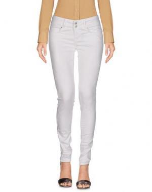 Повседневные брюки FIFTY FOUR. Цвет: белый
