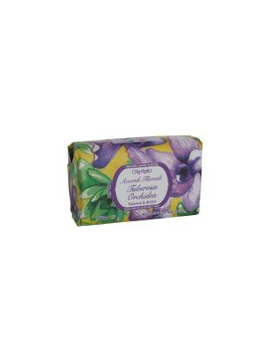 Мыло  с оливковым маслом, аромат туберозы и орхидеи, 150гр Iteritalia. Цвет: кремовый