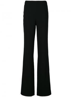 Широкие брюки Emilio Pucci. Цвет: чёрный