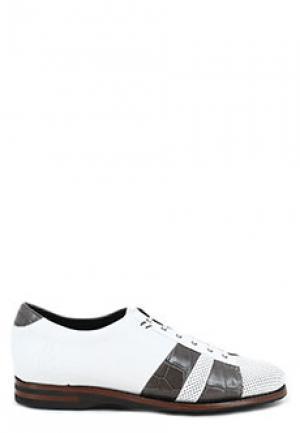 Ботинки PAKERSON. Цвет: белый