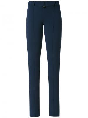 Расклешенные брюки Gloria Coelho. Цвет: синий