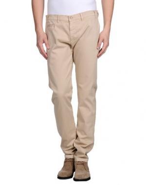 Повседневные брюки ALV ANDARE LONTANO VIAGGIANDO. Цвет: бежевый