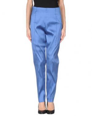 Повседневные брюки GOOD ON HEELS. Цвет: синий