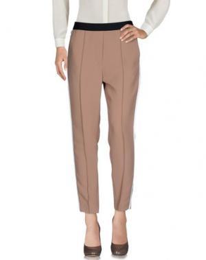 Повседневные брюки SANDRO. Цвет: бежевый