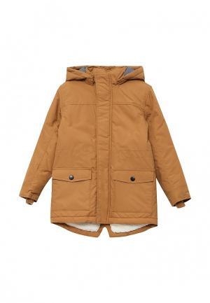 Куртка утепленная Name It. Цвет: коричневый