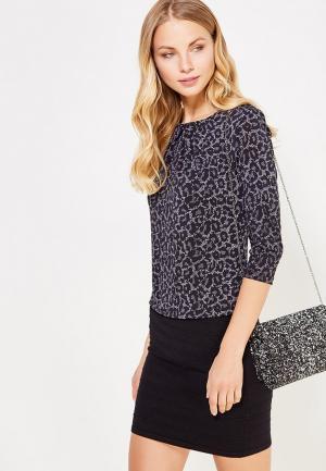 Блуза oodji. Цвет: серый
