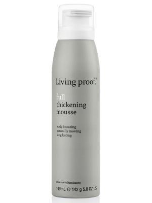 Мусс для объема тонких волос Living Proof. Цвет: серый