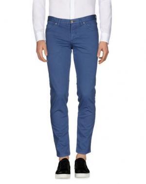 Повседневные брюки ALV ANDARE LONTANO VIAGGIANDO. Цвет: грифельно-синий