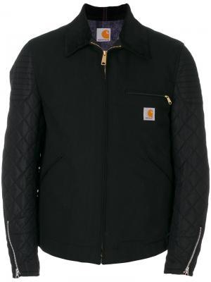Куртка на молнии Junya Watanabe Comme Des Garçons Man. Цвет: чёрный
