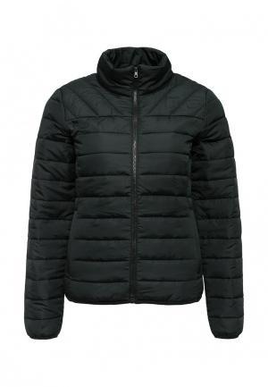 Куртка утепленная Only. Цвет: зеленый