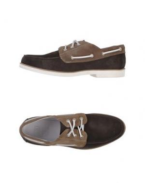 Обувь на шнурках ZERO_571. Цвет: темно-коричневый