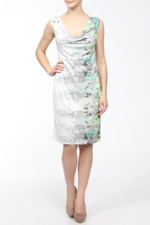 Платье M&L Collection. Цвет: мультицвет