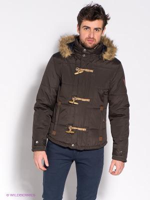 Куртка Mezaguz. Цвет: темно-коричневый