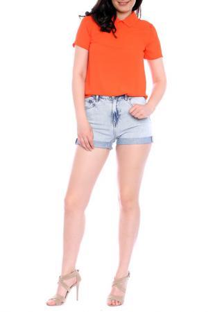 Блуза Moda di Chiara. Цвет: оранжевый