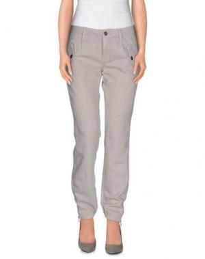 Повседневные брюки MASON'S. Цвет: голубиный серый