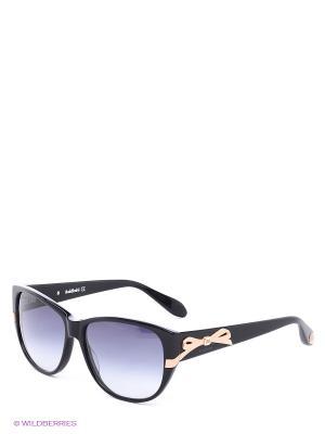 Солнцезащитные очки BLD 1406 201 Baldinini. Цвет: черный