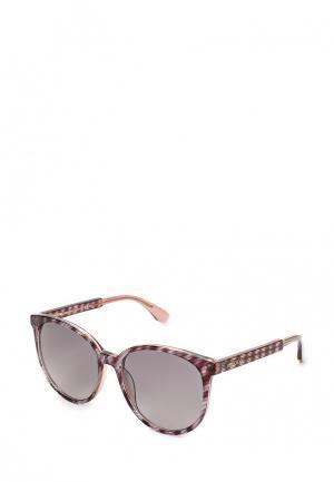 Очки солнцезащитные Jimmy Choo. Цвет: розовый
