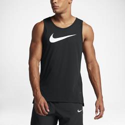 Мужская баскетбольная майка  Dry Elite Nike. Цвет: черный