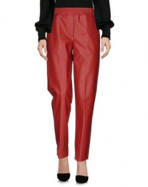 Повседневные брюки JIJIL. Цвет: красный