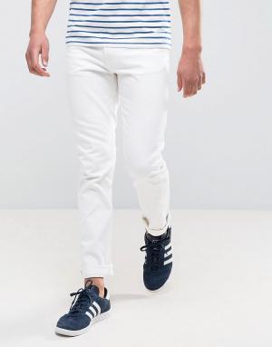 Weekday Белые джинсы скинни Friday. Цвет: белый