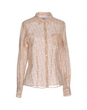Pубашка COAST WEBER & AHAUS. Цвет: верблюжий