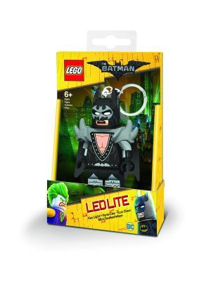 Брелок-фонарик для ключей LEGO Batman Movie (Лего Фильм: Бэтмен)-Glam Rocker. Цвет: черный,серый,бежевый