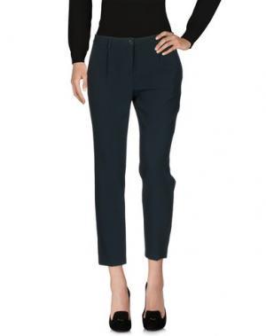 Повседневные брюки INX #THINK COLORED. Цвет: темно-зеленый