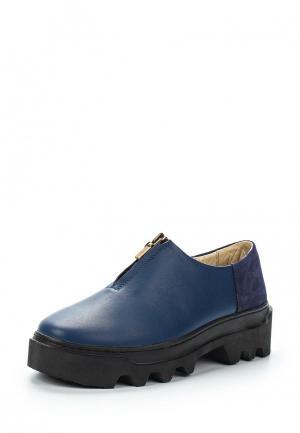 Ботинки Poblenou. Цвет: синий