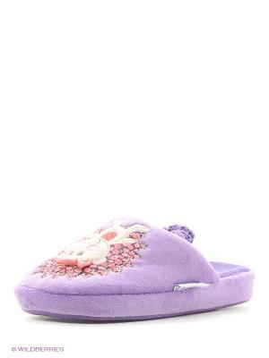 Тапочки Котофей. Цвет: фиолетовый