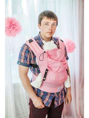 Эргономичный рюкзак Girls. Модель: Комфорт Sling Me. Цвет: розовый