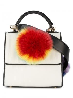 Мини-сумка на плечо Alex Les Petits Joueurs. Цвет: многоцветный