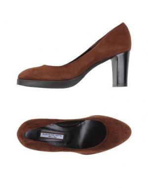 Туфли GUGLIELMO ROTTA. Цвет: коричневый