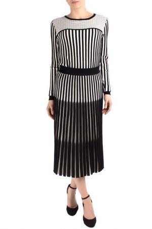 Skirt FEVER LONDON. Цвет: black, cream