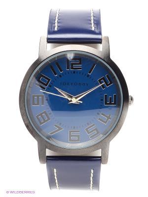 Часы TOKYObay. Цвет: синий