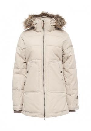 Куртка утепленная Icepeak. Цвет: бежевый