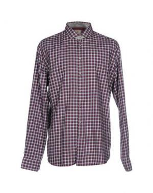 Pубашка Q1. Цвет: красно-коричневый