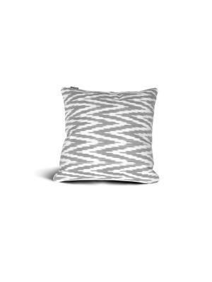 Чехол на подушку декоративный Ikat Square 45*45см RAWEDGE. Цвет: красный, серый