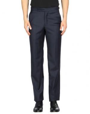 Повседневные брюки RICHARD JAMES. Цвет: темно-синий