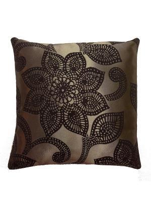 Декоративная подушка KONONO. Цвет: черный