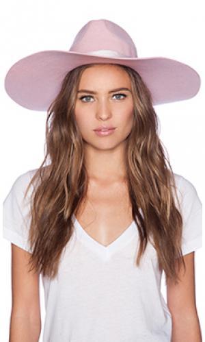 Шляпа montana pink dusk Lack of Color. Цвет: розовый
