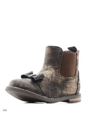 Ботинки Milton. Цвет: бронзовый, золотистый